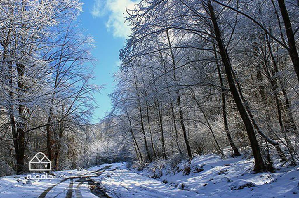 گشت و گذار زمستانه در استان مازندران