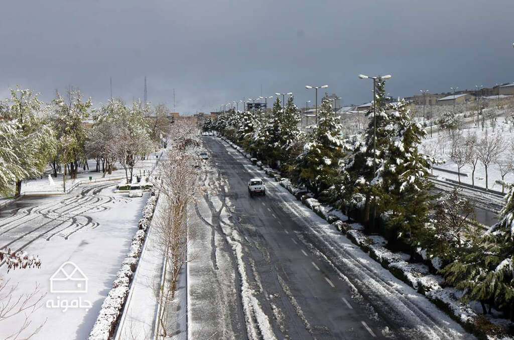 خودنمایی جاذبه های زمستانی در بام ایران