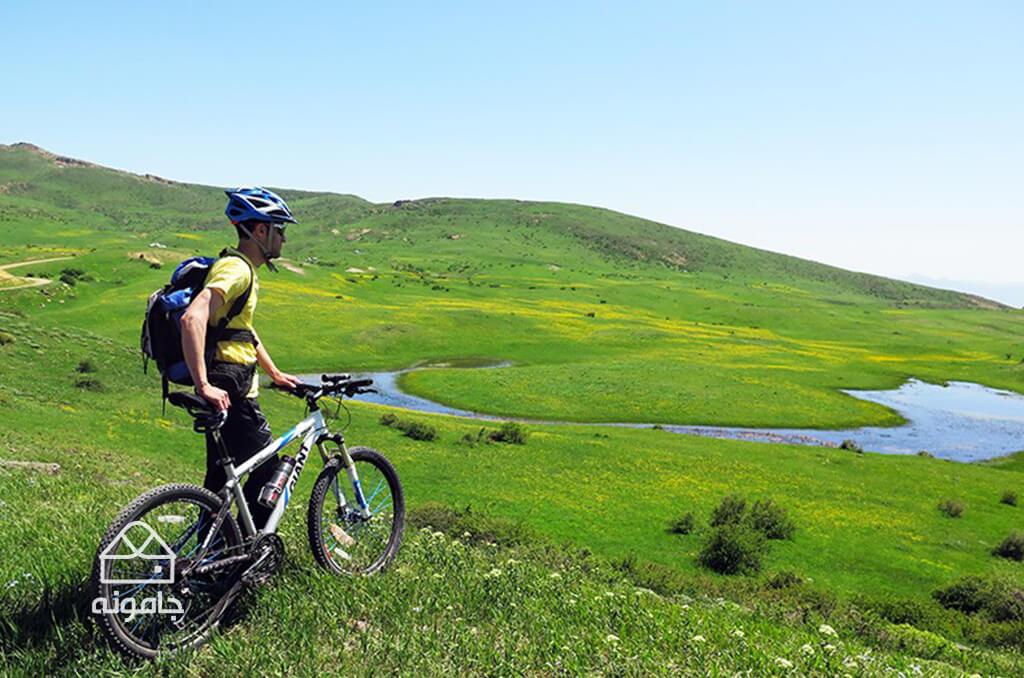 راهنمای دوچرخه سواری از کلیشم تا املش