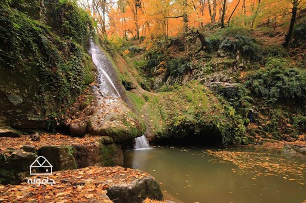 آبشار لوه در استان گلستان