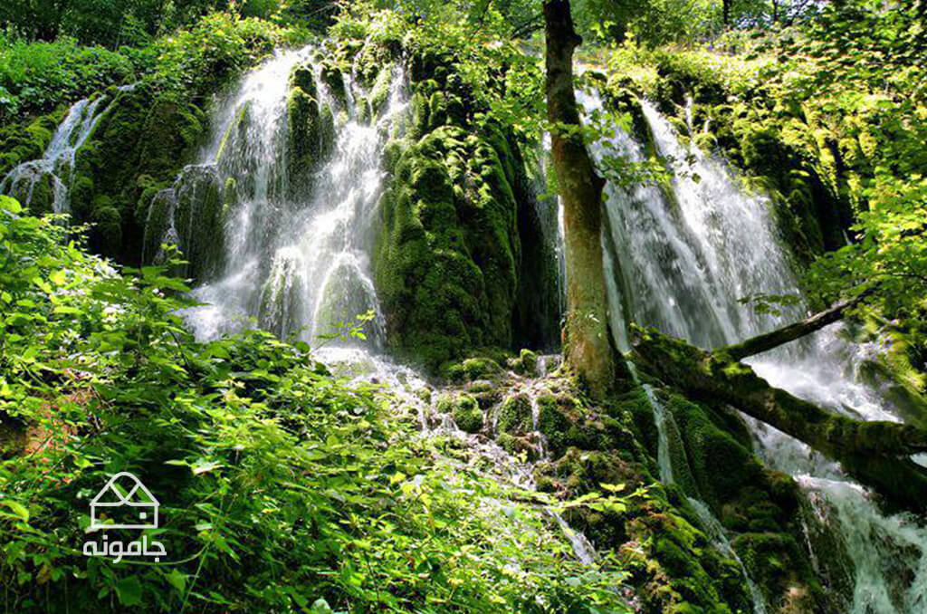 آبشار بولا در مازندران