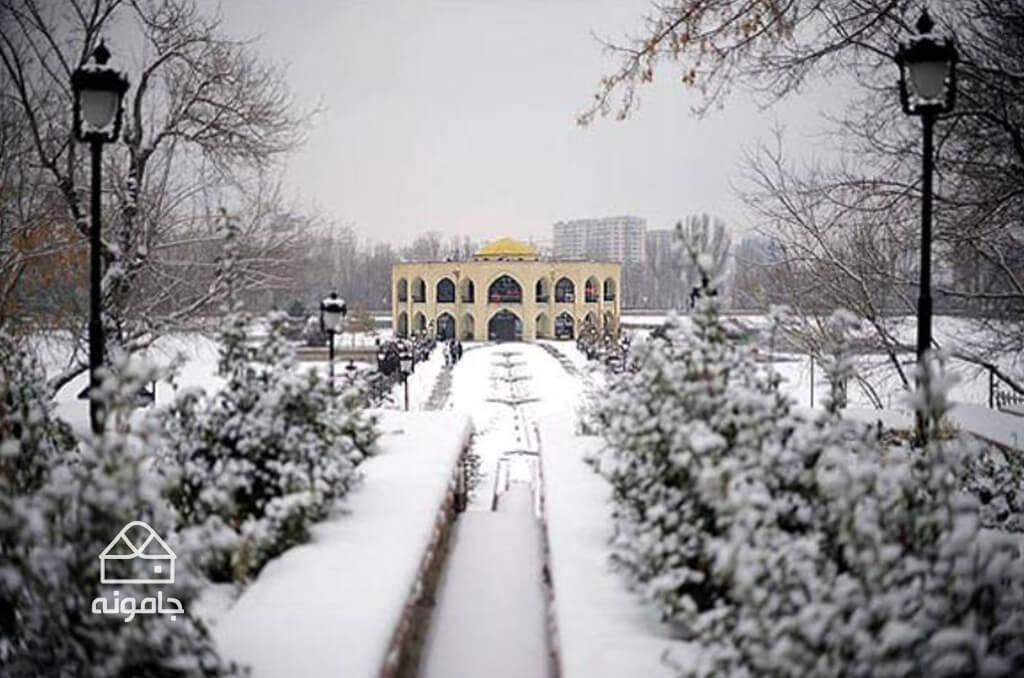 جاهای دیدنی تبریز در زمستان