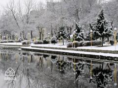 شهر اردبیل؛ شهری زمستانی و برفی با چشمه های آبگرم