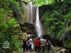 وفور در لفور، راهنمای سفر به آبشار ترز در جنگل های لفور سوادکوه شمالی