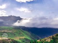 رکاب زنی با جنگل و مه، دوچرخه سواری جنگلی از کلاردشت تا مازیچال 2