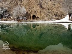 کرمانشاه؛ سرما در دیار کتیبه ها