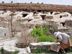 چگونگی زندگی ساکنین روستای صخره ای میمند در استان کرمان_1