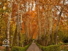 رنگین کمان تهرانی، راهنمای گشت و گذار در پارک جمشیدیه