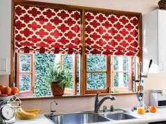منزل زیباتر با راهکارهای ساده؛ پرده آشپزخانه