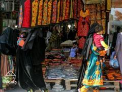 دست پر از مرز خرید در چابهار، بندری در منتهی الیه جنوب غربی کشور