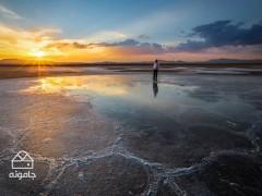 راهنمای بازدید از دریاچه حوض سلطان در استان قم