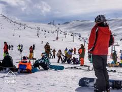 استان البرز؛ دامنه ای برفی به همراه ورزش و تفریحات زمستانی