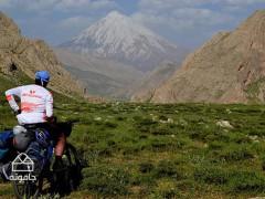 دشت لار؛ منطقه ای کوهستانی برای دوچرخه سواری