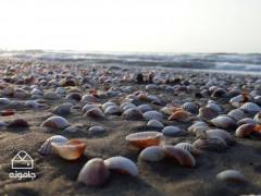 ساحلگردي در خزر جاده و آبتنی در آبِ گرم های جاده هراز