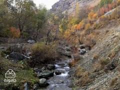 راهنمای گشت و گذار در روستای ده تنگه و آبشار چهل پله