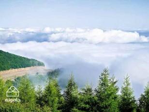 اَبَر جنگل ابر ، نگین استان سمنان